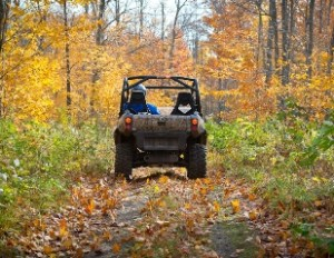 ATV trail riding between Champion and Big Bay, Marquette Co.